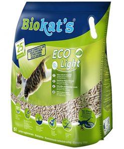 Biokats Eco Light Pelet Kedi Kumu 5 Lt