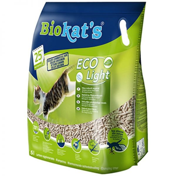 Biokats Eco Light Pelet Kedi Kumu 5 Lt