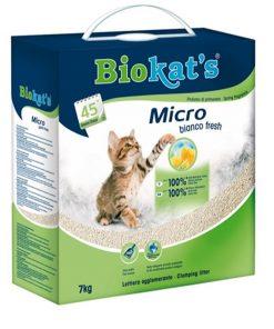 Biokats Kedi Kumu Micro Bianco Fresh 7 Kg