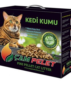 Çam Pelet  Doğal Kedi Kumu 12 Lt 5 kg