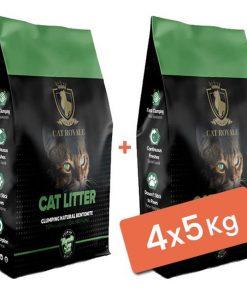 Cat Royale Sabunlu Topaklanan Doğal Kedi Kumu 4x5 Kg