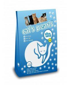 Cats Pearls Silika Kristal Kedi Kumu 3.8 Lt 1.6 Kg