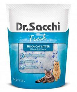 Dr.Sacchi Silika Kedi Kumu 3.2 Lt 1.4 Kg
