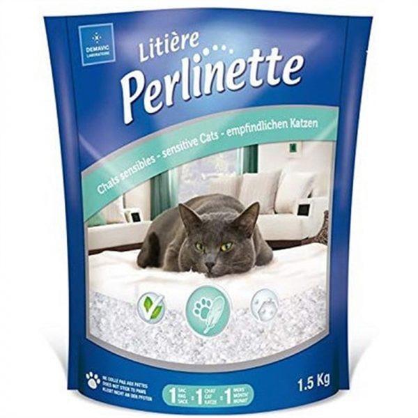 Perlinette Cat Adult Sensitive Hassas Kristal Kedi Kumu 1.5 Kg 3.7 Lt
