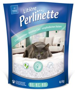 Perlinette Cat Adult Sensitive Hassas Kristal Kedi Kumu 6 Kg 14.8 Lt
