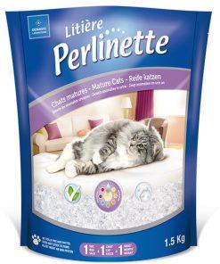 Perlinette Cat Detect Hastalık Kontrolu Kristal Kedi Kumu 1.5 Kg 3.7 Lt