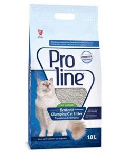 Proline Parfümsüz Bentonite Topaklanan Kedi Kumu 10 Lt