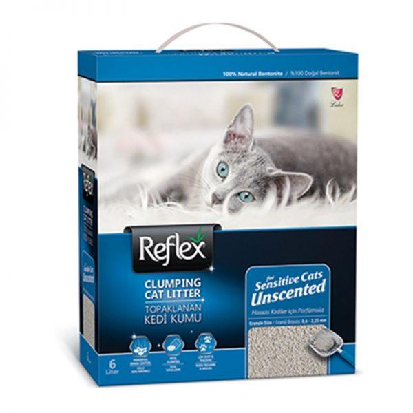 Reflex Sensitive Kokusuz Bentonit Kedi Kumu 6 Lt