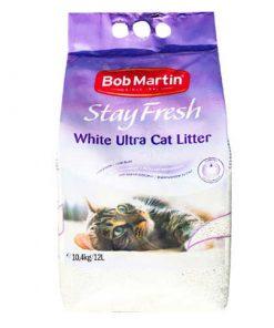 StayFresh Ultra Beyaz Hızlı Topaklanan Bebek Pudralı Kedi Kumu 12 Lt